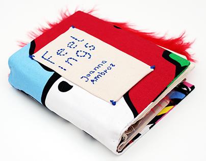 Feelings – Children's book for blind andsight impaired