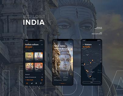 Explore India - Mobile App