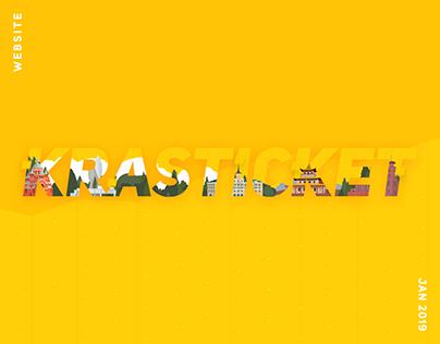 Krasticket — Website