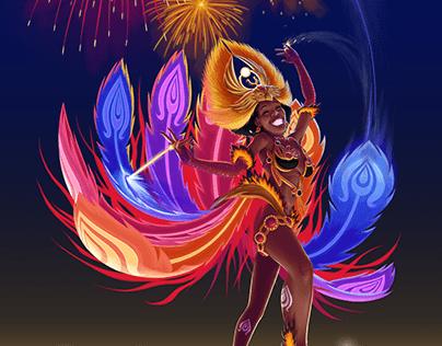 Brazilian Arcane Dancer