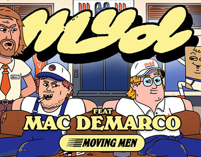 Myd - Moving Men (feat. Mac DeMarco) Music Video