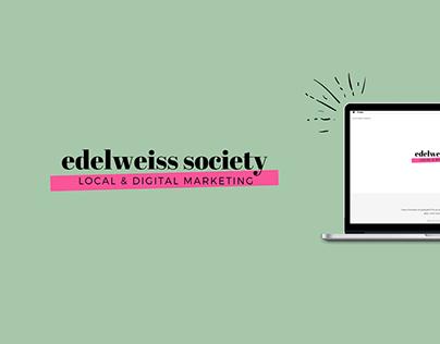 edelweiss society | WEB DESIGN