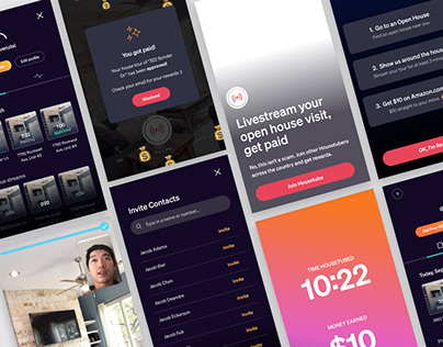 HomeTube App Design