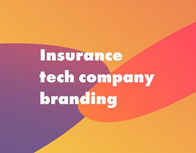 Insurance tech company branding