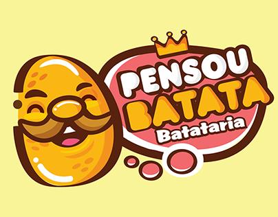Logotipo Pensou batata