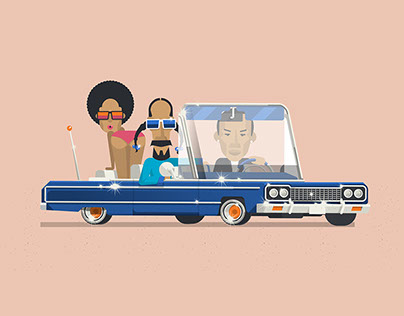 Snoop and Dre, Animated design