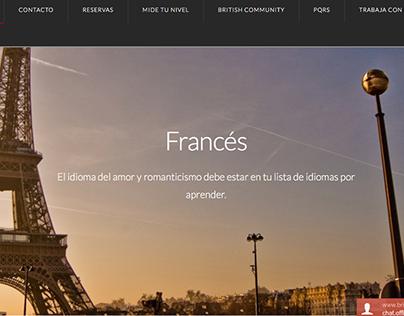 Página Web British College