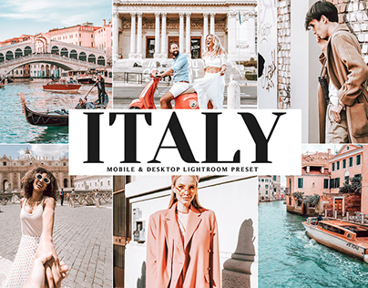 Free Italy Mobile & Desktop Lightroom Preset