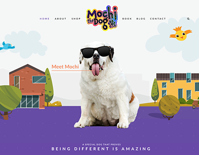 Mochi the Dog