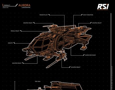 Free Star Citizen Fan Art Poster - RSI Layout
