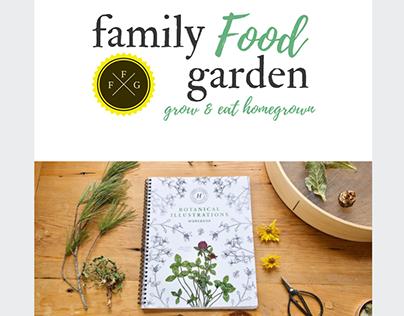 Garden Newsletter Email Template Design