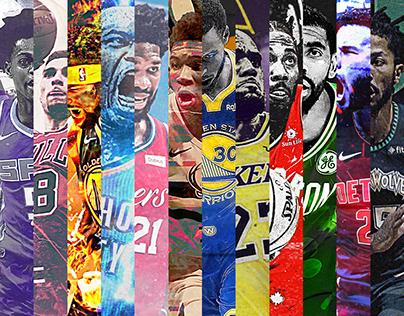 NBA Poster Series