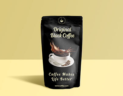Coffee Label / Pouch / Packing / Packaging