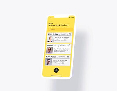 Articulate App Design