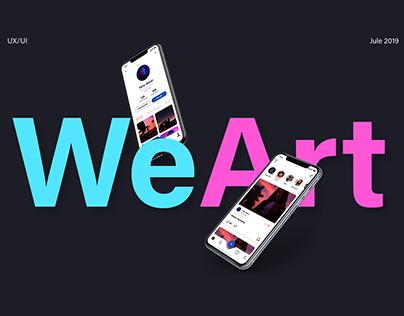 WeArt app