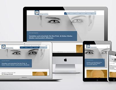 Webdesign for Training Academy