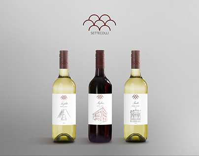 "Vino ""Settecolli"" - Branding"