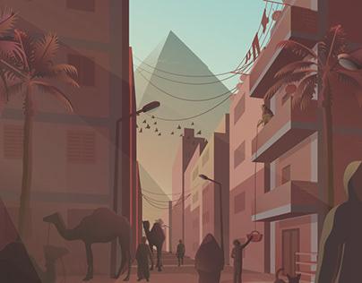 Illustrations of Cairo - Vol.2