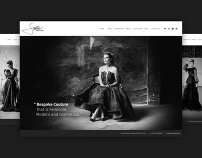 Fashion Designer - Web Design
