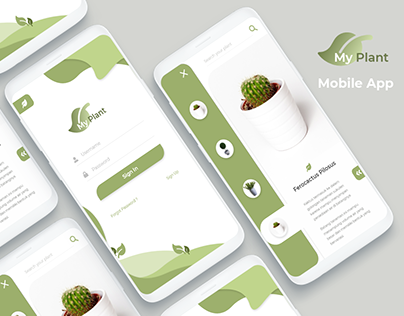 Mobile App - My Plant