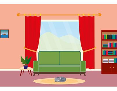 oturma odası tasarımı-room design
