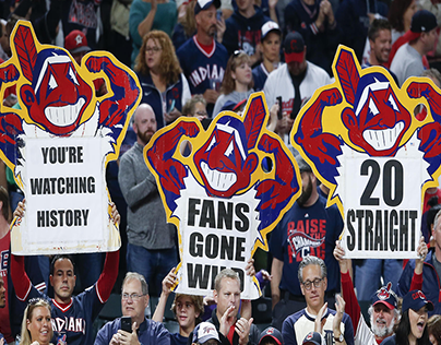 Mobile Ad Campaign: Cleveland Indians break MLB record!