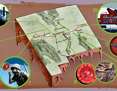 They Draw and Travel: Route 66