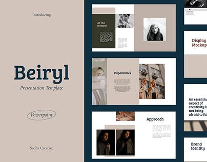 Beiryl Presentation Template