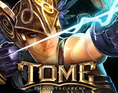 TOME: Immortal Arena-- MOBA Character Art