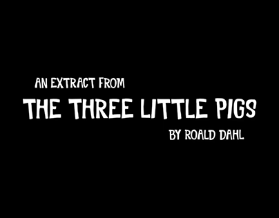 The Three Little Pigs   Animated Video