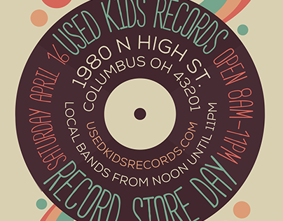 Record Store Day - Used Kids Records