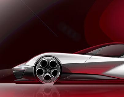 Alfa Romeo Sportiva Pininfarina EV Concept