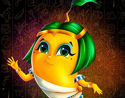 Mango Character Design