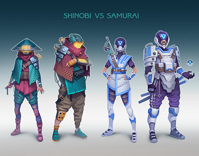 Shinobi Vs Samurai
