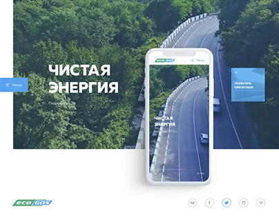 EcoGaz promotion website
