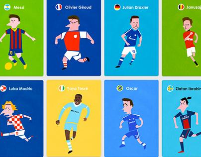 ヨーロッパサッカー選手名鑑(european league playrs)