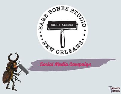 Social Media Campaign: Bare Bones Studio