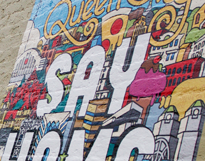 """Sing the Queen City, Say Home"" Cincy Ink Minimural"