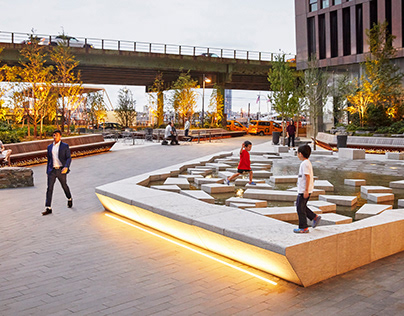 First Avenue Water Plaza