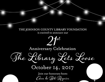 The Library Lets Loose | Save the Date