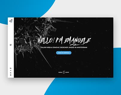 Emanuele Papale - Portfolio Design