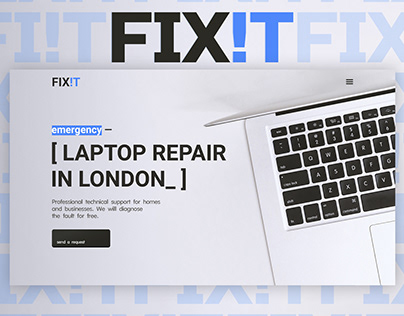 Laptop Repair Website design | Ремонт ноутбуков