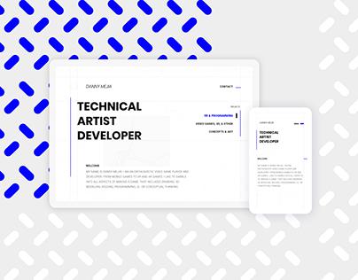 Portfolio Website Design Project