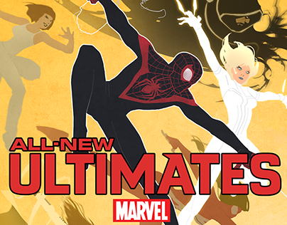 All-New Ultimates Cover Art