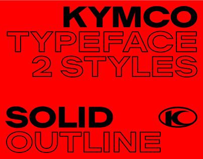 KYMCO Typeface