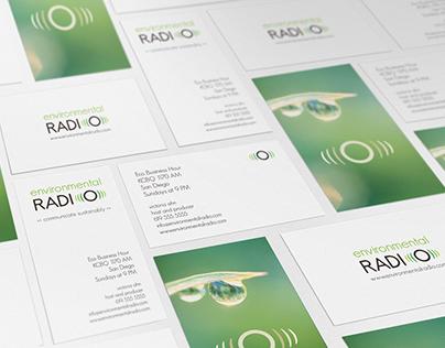 Environmental Radio | Branding + Website Design