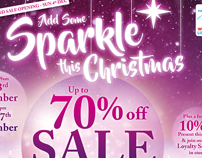 Arthur Price Christmas Sale 2016