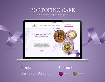 LP design for Portofino cafe