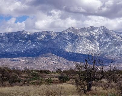 Desert Mountain Snowfall Saddlebrooke