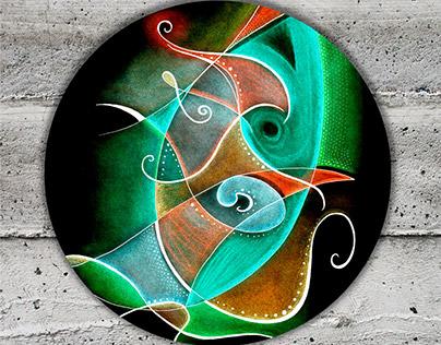 Anxious - Abstract Art